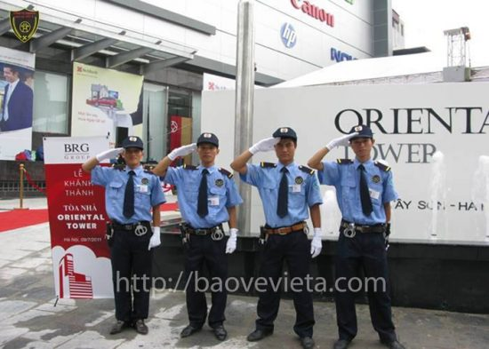 Công ty dịch vụ bảo vệ tại Vĩnh Phúc