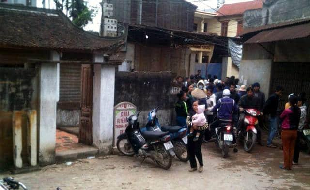 Án mạng nghiêm trọng tại xã Canh Nậu