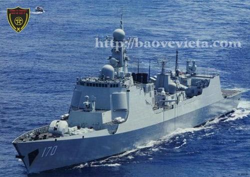 Chiến hạm của Trung Quốc