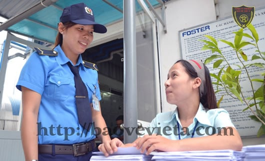 Dịch vụ cho thuê nữ bảo vệ