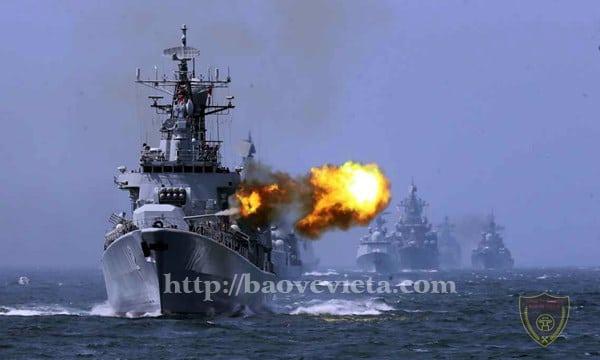 Trung Quốc tổ chức tập trận tại Biển Đông