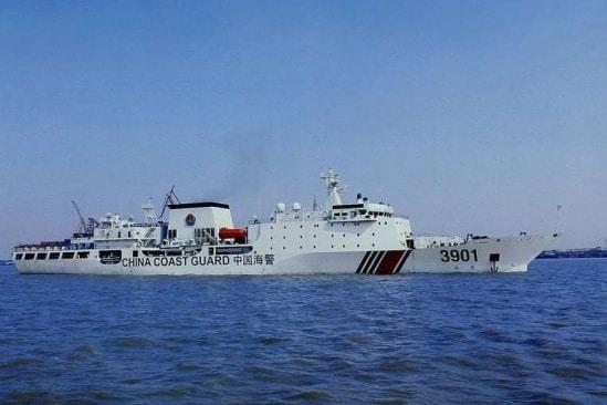 Tàu tuần tra CCG 3901 của Trung Quốc.