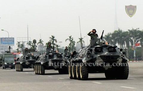 Dàn xe bộ binh bánh lốp (BTR - 60PB)