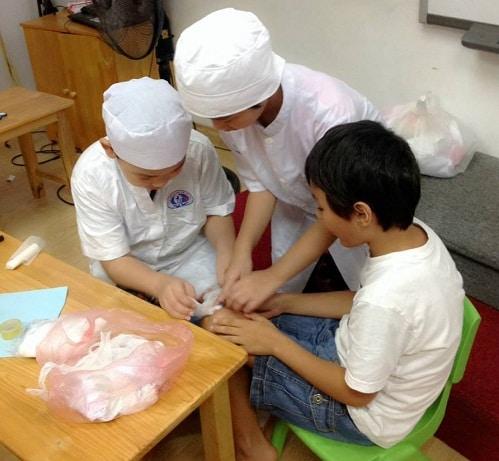 Rèn luyện kỹ năng bảo vệ bản thân cho trẻ