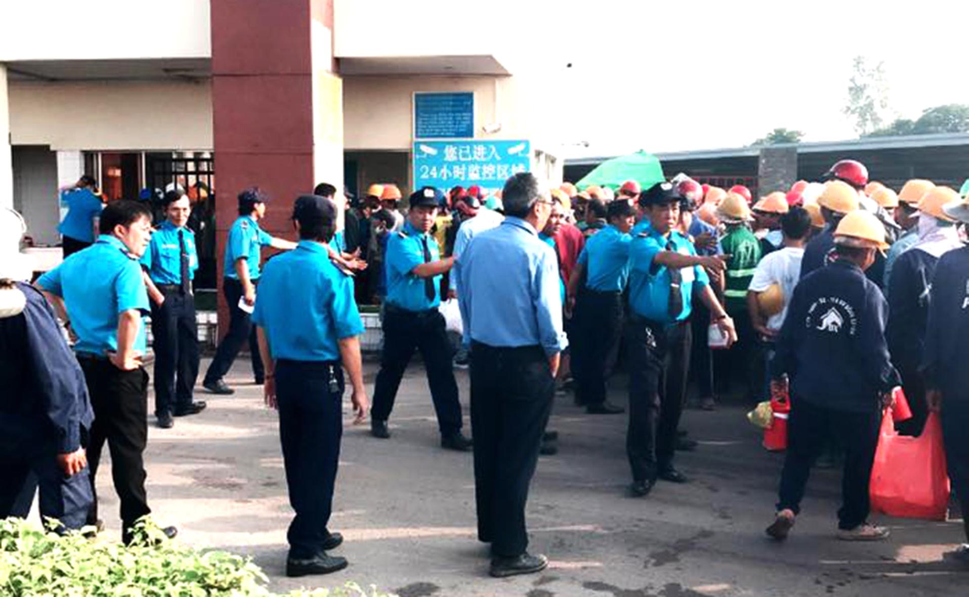 Nhân viên công ty bảo vệ Thanh Mai thờ ơ trong vụ bác sĩ bị đánh