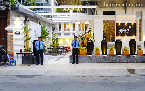 Giải pháp nào cho công tác bảo vệ an ninh trật tự tại nhà hàng