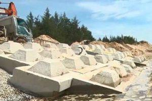 Bảo vệ an toàn đảo ngọc Tam Hải trước xâm thực của sóng biển