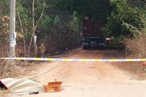 Thương tâm nam bảo vệ 60 tuổi tử vong vì nhắc nhở lái xe container